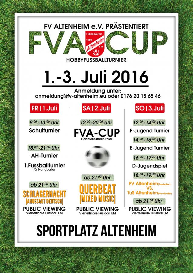 Flyer Sportfest 2016
