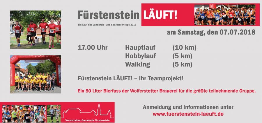 Fürstenstein Läuft - Vereine