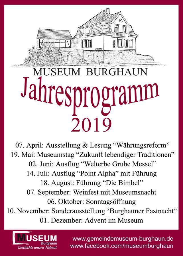 Jahresprogramm 2019 neu