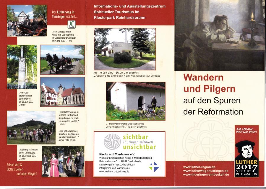Wandern und Pilgern auf den Spuren der Reformation