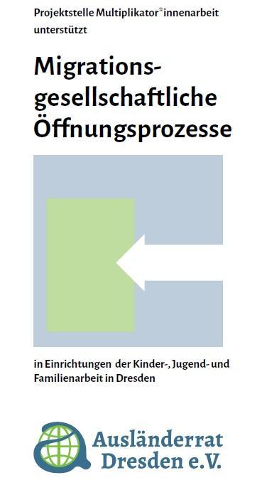 Flyer Migrationsgesellschaftliche Öffnungsprozesse