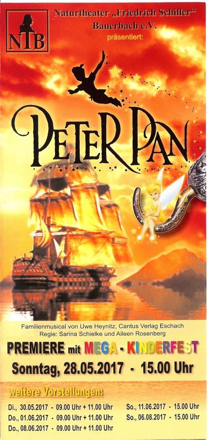 Flyer - Peter Pan 2017