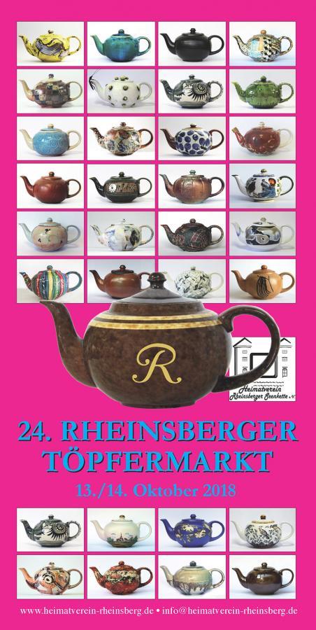 Flyer Rheinsberger Toepfermarkt 2018