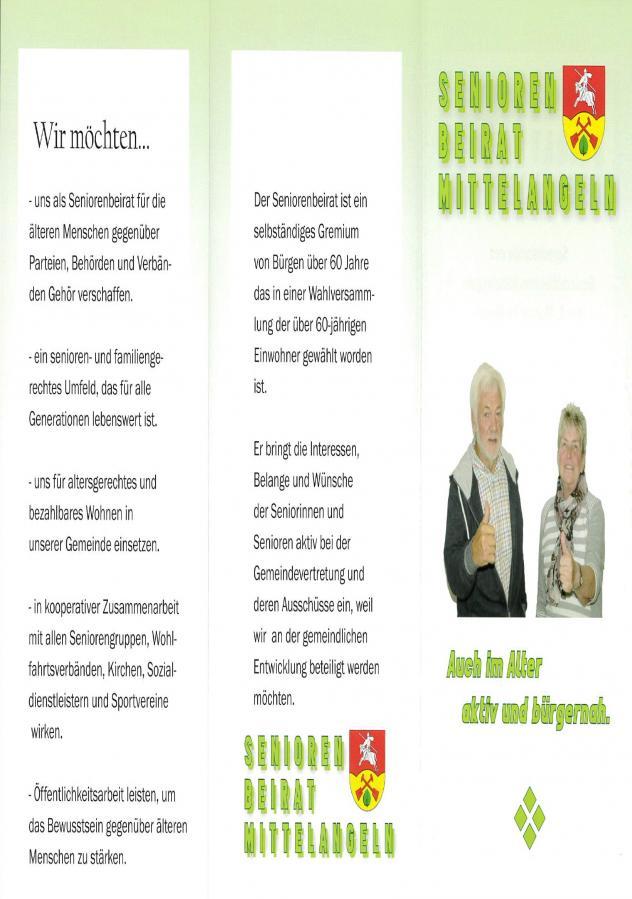 Flyer Seniorenbeirat Mittelangeln Seite 1