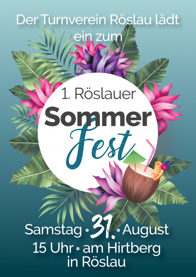 Sommerfest TV Röslau