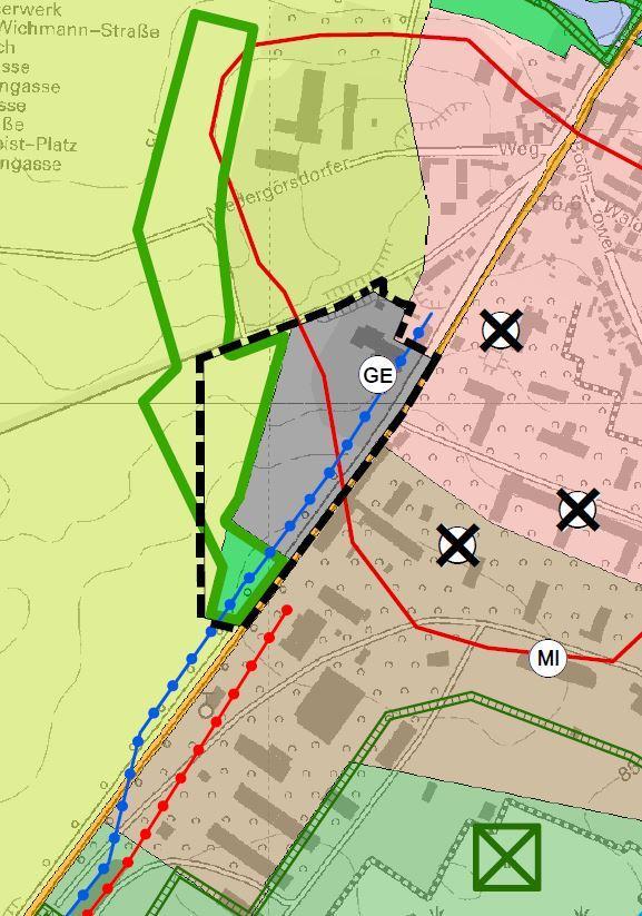 FNP028 Ausschnitt Planzeichnung