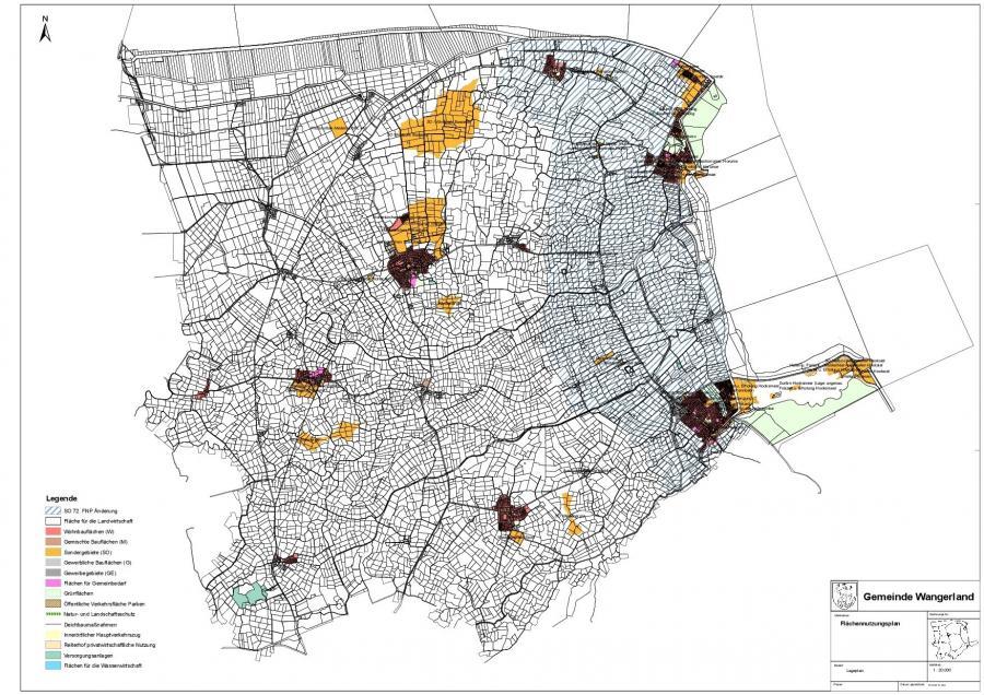 Flächennutzungsplan Gemeinde Wangerland
