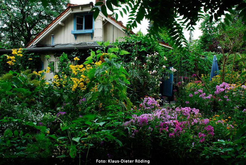 Garten Hannah Höch, Foto: Klaus-Dieter Röding