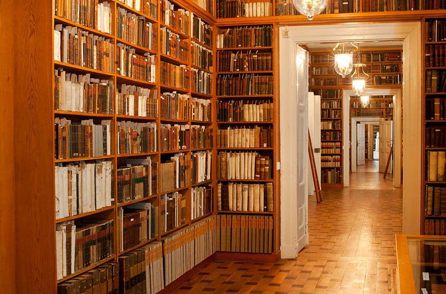 Forschungsbibliothek Gotha, Büchergang