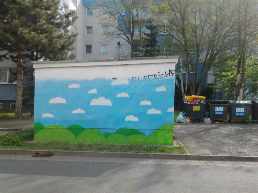 in Arbeit - Magdeborner Straße