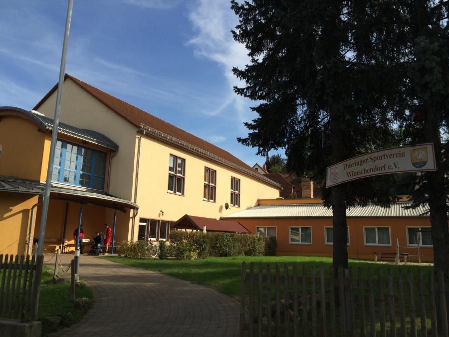 Eingang Sportkomplex