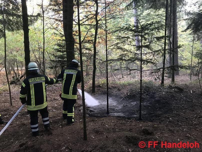 F1 - Feuer klein, Am Schafstall, Wörme