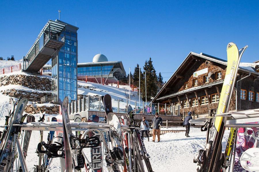 Skifahren am Großen Arber- Panoramaaufzug mit Arberschutzhaus & Eisensteiner Hütte