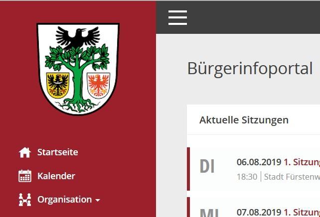 Foto Bürgerinfoportal