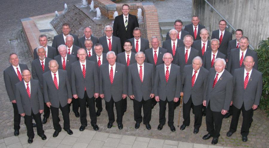 Männerchor (Auftritt im 04.2014 Stadthalle Baunatal)