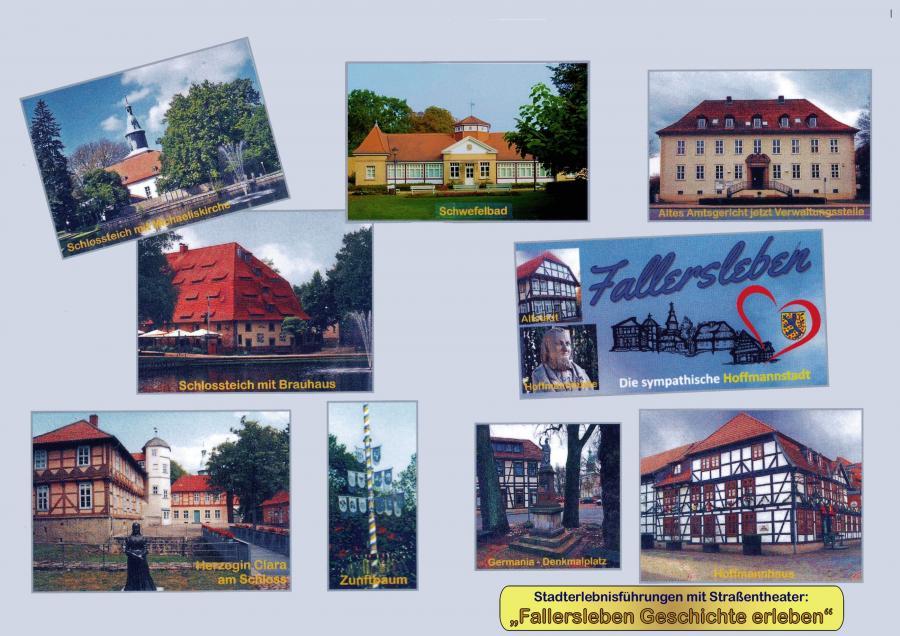 Titelblatt vom Fotobuch Stadterlebnisführungen 2017