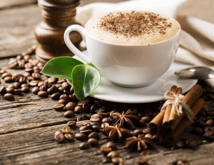 Grüner Kaffee und Ling Zhi