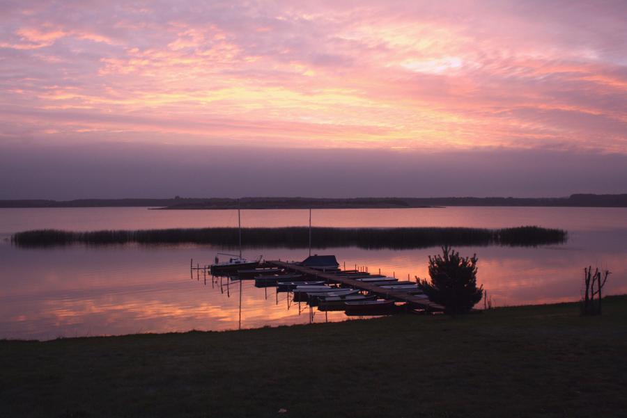 Abenddämmerung am Gräbendorfer See