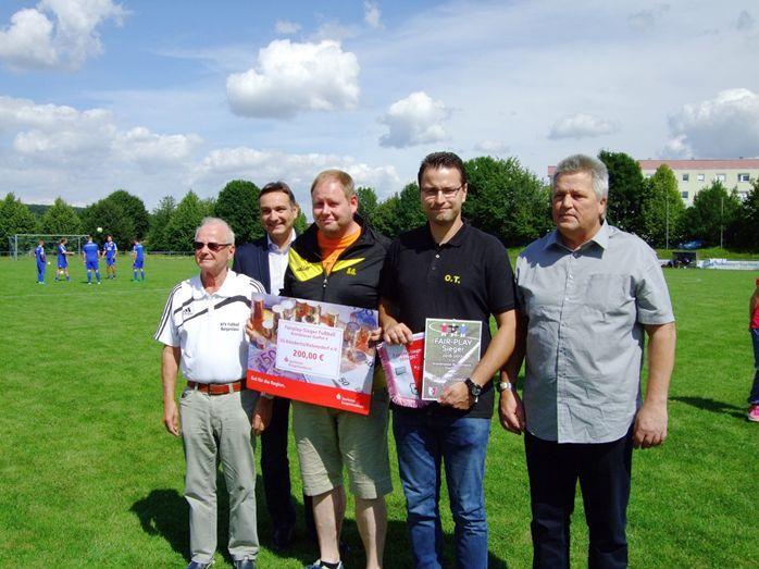 Fairplay-Sieger 1. Kreisklasse Staffel 3 SpG SG Trebnitz/ Luckenau