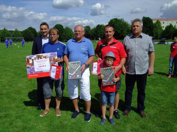Fairplay-Sieger 1. Kreisklasse Staffel 4  SV Spora II. und SG Könderitz II