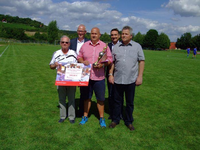 Fairplay-Sieger Kreisoberliga SG Blau/ Weiß Bad Kösen