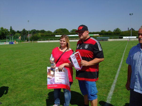 Fairplay-Pokal-Sieger der Frauen : SG Grün- Weiß Döschwitz