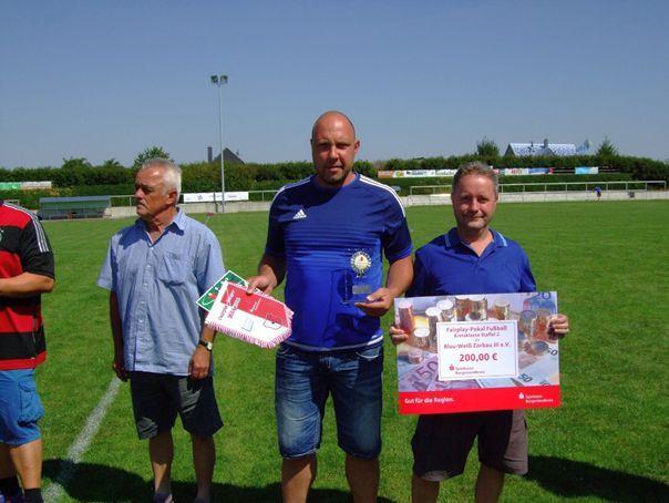 Fairplay-Pokal-Sieger Kreisklasse Staffel II: SV Blau- Weiß Zorbau III