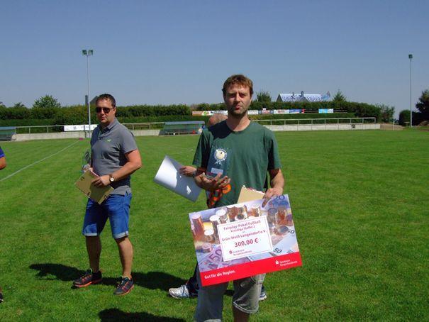 Fairplay-Sieger Kreisliga Staffel 2: SV Grün- Weiß Langendorf