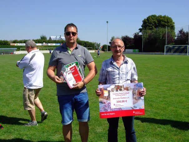 Fairplay-Pokal-Sieger Kreisliga Staffel 3: Eintracht Theißen