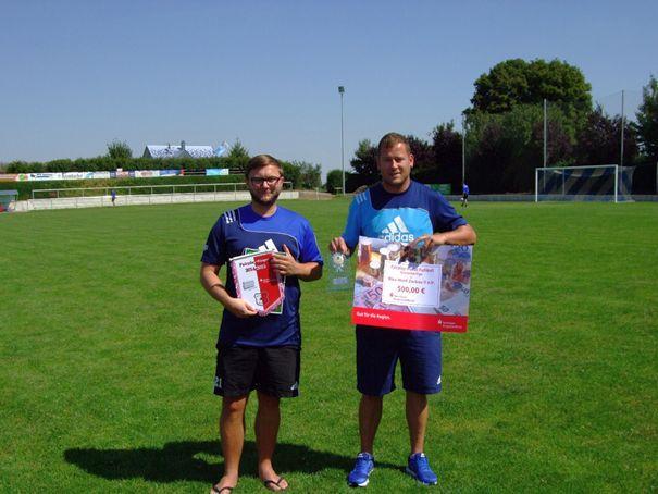 Fairplay-Pokal-Sieger Kreisoberliga: SV Blau- Weiß Zorbau II