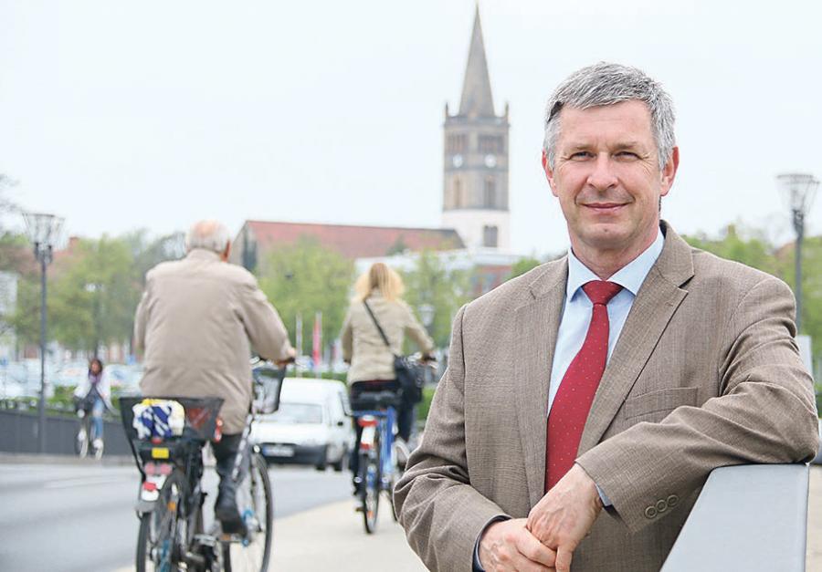 »Wenn nötig, werden wir das Konzept anpassen«, sagt Oranienburgs Baustadtrat Frank Oltersdorf. (Foto: Jurisch)