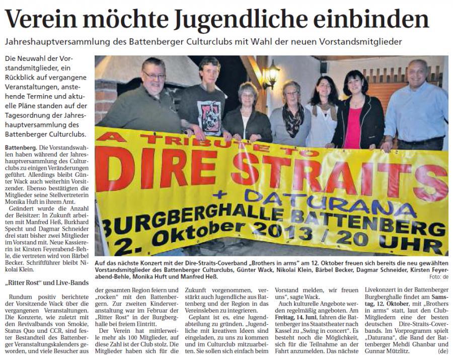 Frankenberger Zeitung vom 03.05.2013