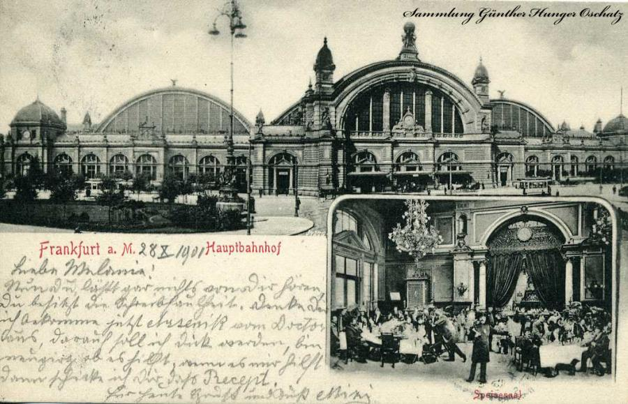 Frankfurt a. M. Hauptbahnhof 1900