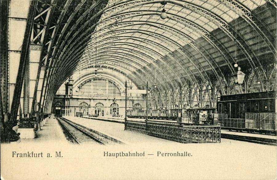 Frankfurt a. M. Hauptbahnhof - Perronhalle