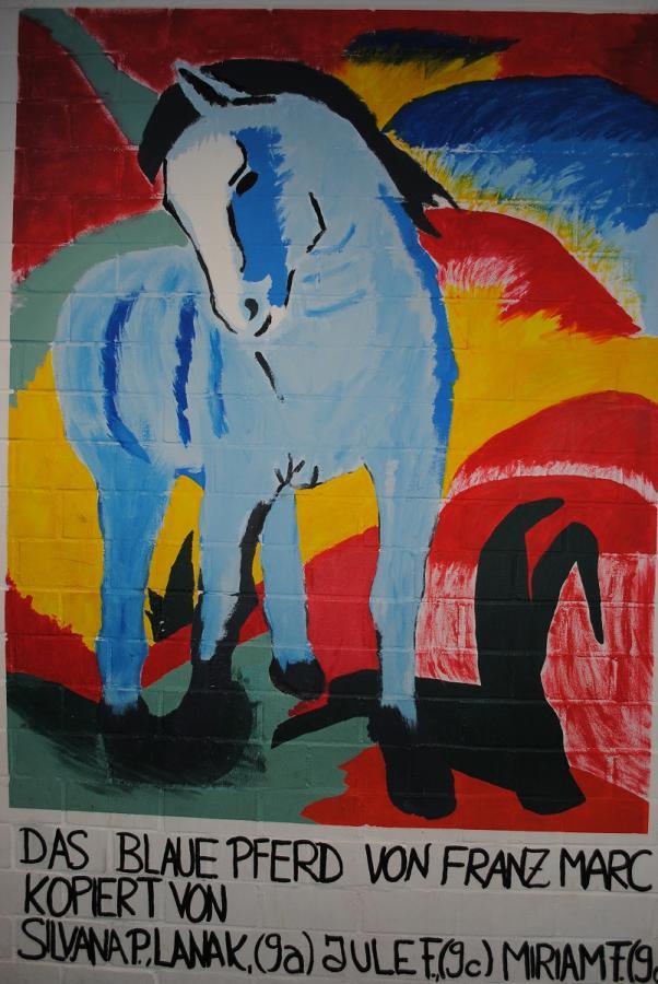 Franz Marc, Das blaue Pferd