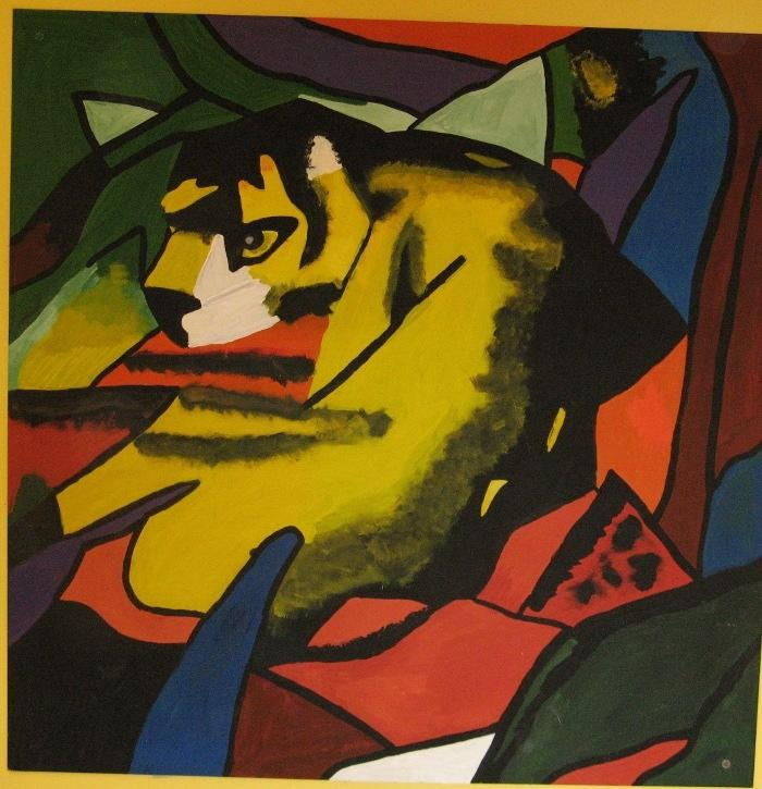 Franz Marc, Panther