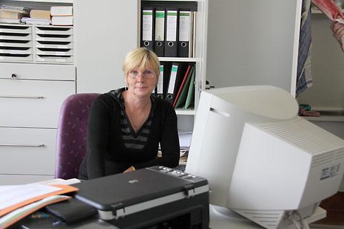 Sekretärin Frau Czychi