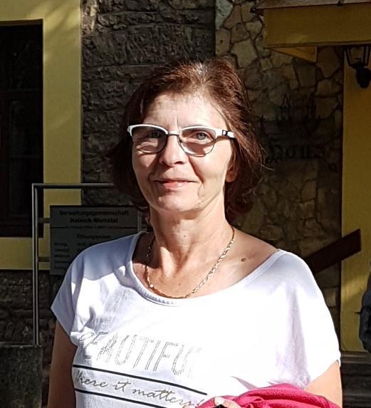 Frau Hornung - Touristinformation Creuzburg
