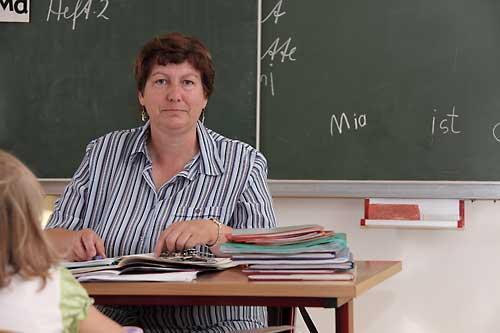 Schulleiterin Frau Hoscheck