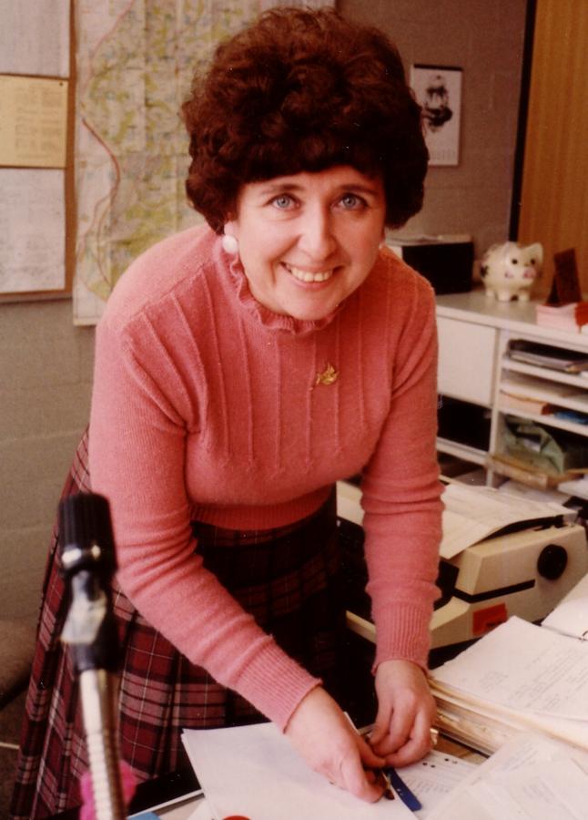 Frau Imbusch - Schulsekretärin 1978 bis 1998
