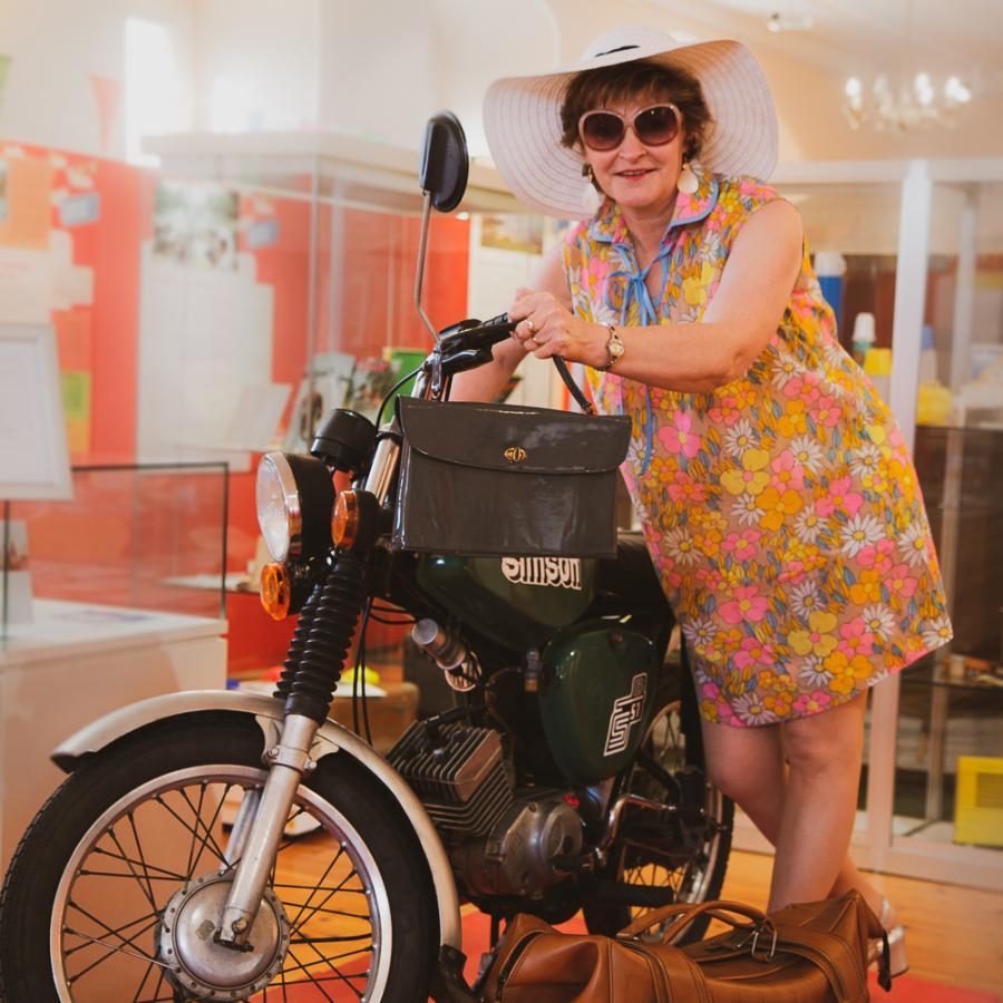 Frau Krause macht Urlaub_Erlebnisführung Urlaub in der DDR Foto: MuseumOSL