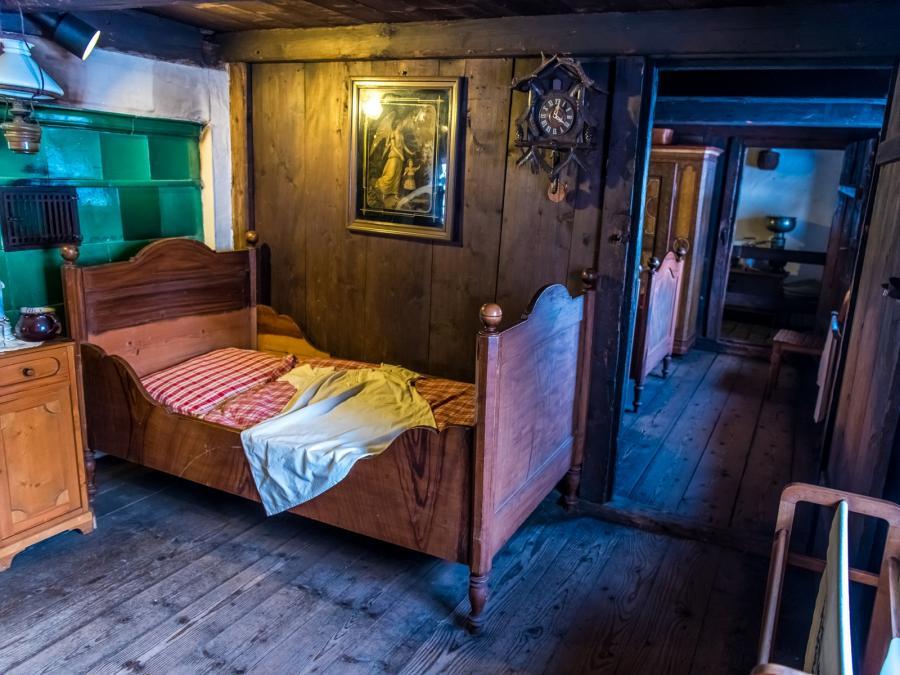 Freilichtmuseum Klausenhof - Schlafzimmer