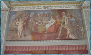 Freske im Belvedere