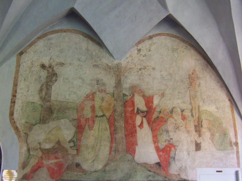 Fresko im Fürstenzimmer