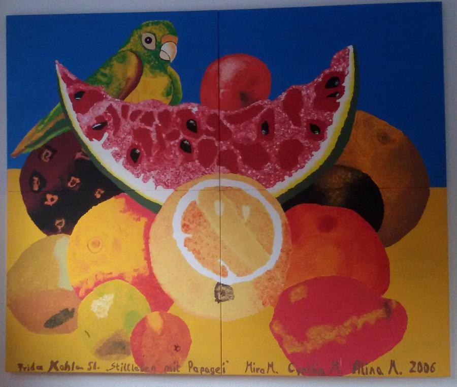 Frida Kahlo, Stillleben mit Obst