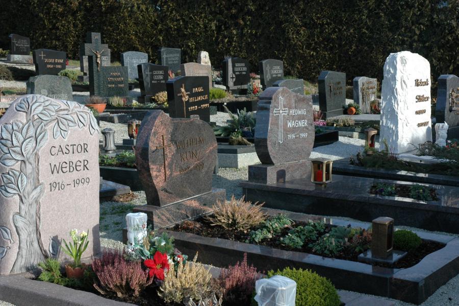 Friedhof Grabfeld 1960 - 1999