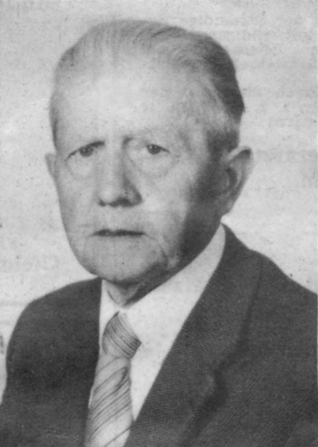 Fritz Oldenburg 1981