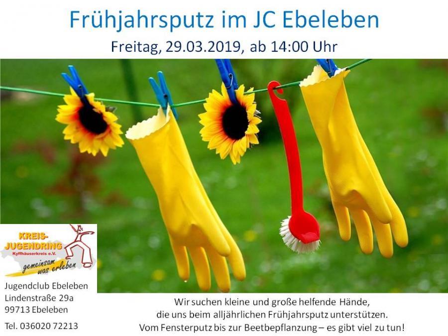 Frühjahrsputz JC Ebeleben