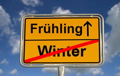 Frühling-Winter ade