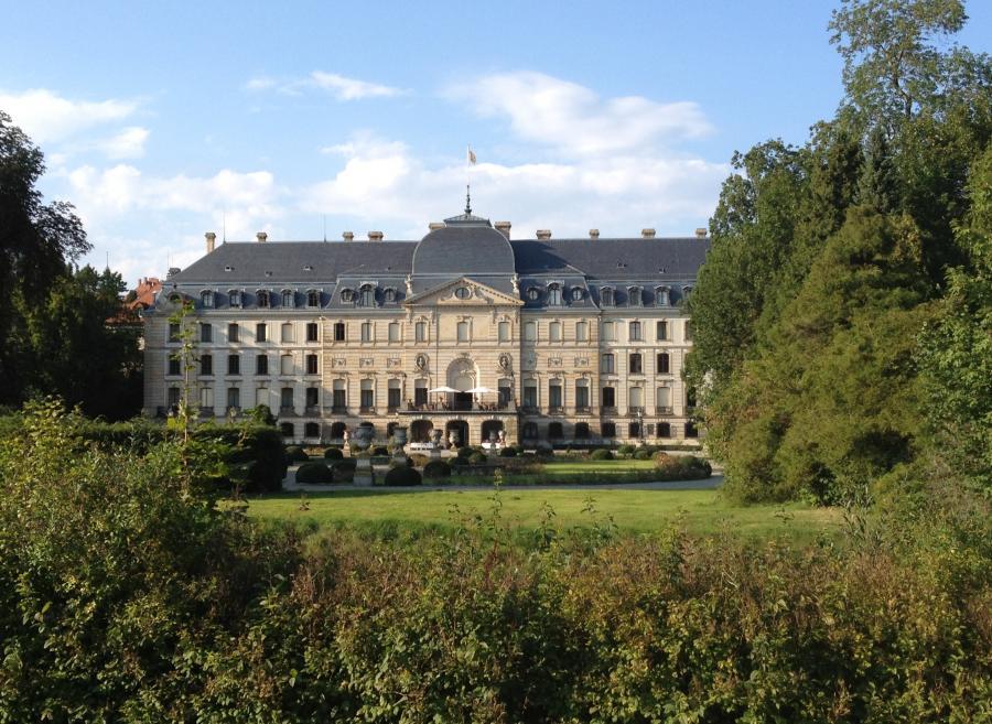 Fürstlich Fürstenbergisches Schloss in Donaueschingen